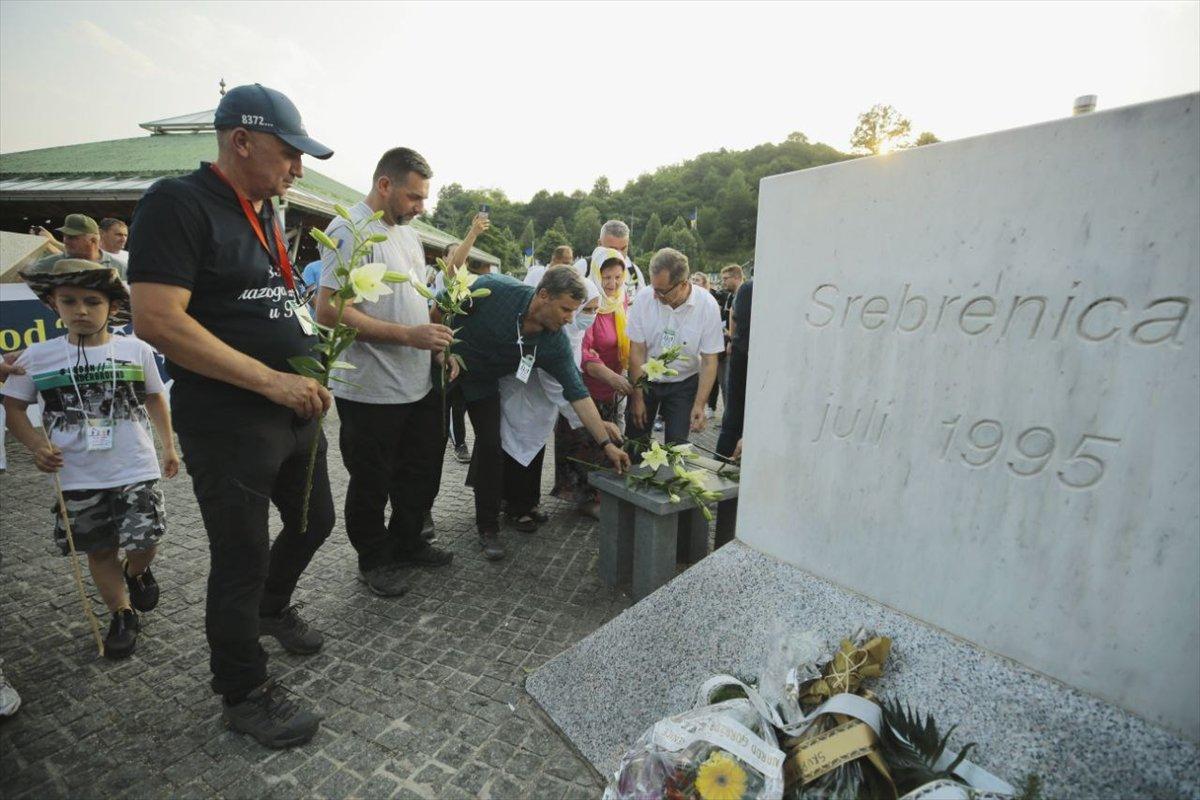 Binlerce Boşnak ın hayatları için çıktığı  ölüm yolu nda 26 yıl sonra  Barış Yürüyüşü  #9