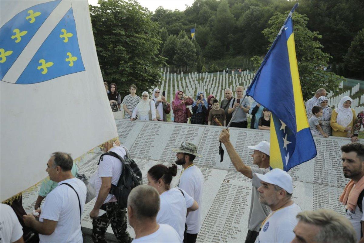 Binlerce Boşnak ın hayatları için çıktığı  ölüm yolu nda 26 yıl sonra  Barış Yürüyüşü  #7