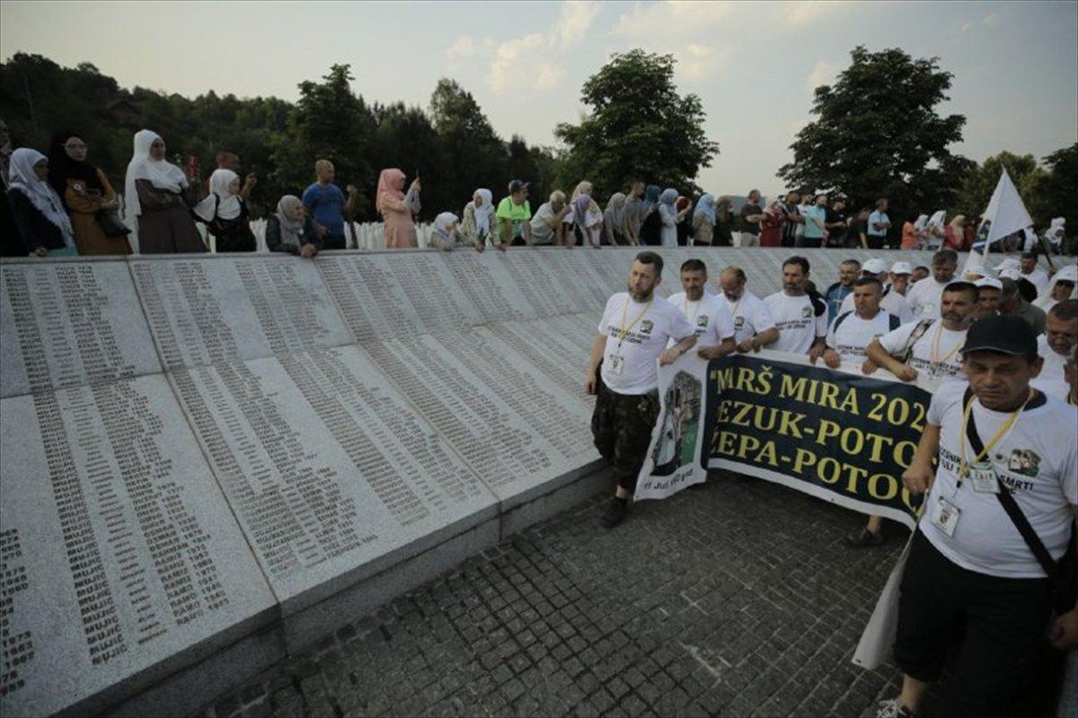 Binlerce Boşnak ın hayatları için çıktığı  ölüm yolu nda 26 yıl sonra  Barış Yürüyüşü  #4