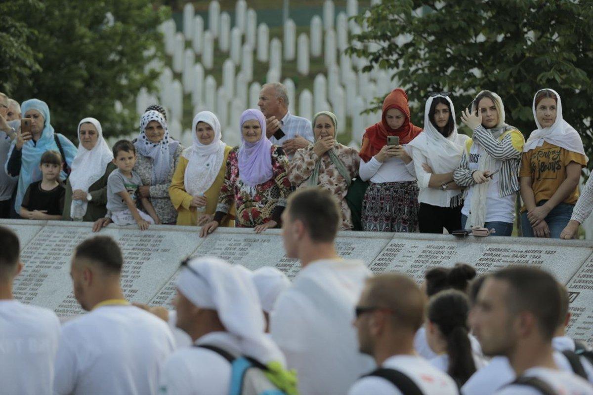 Binlerce Boşnak ın hayatları için çıktığı  ölüm yolu nda 26 yıl sonra  Barış Yürüyüşü  #6