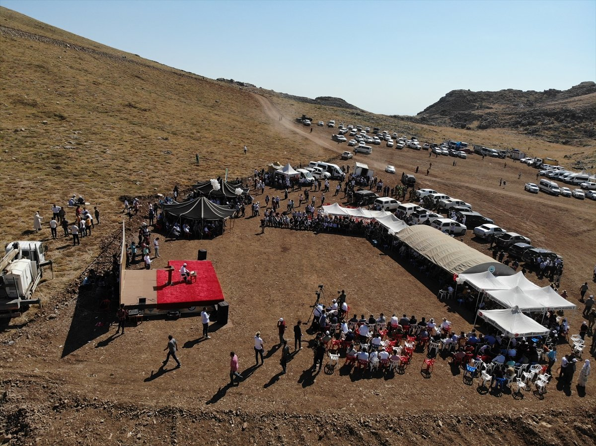 Terörden temizlenen Cudi Dağı nda 40 yıl sonra festival  #11