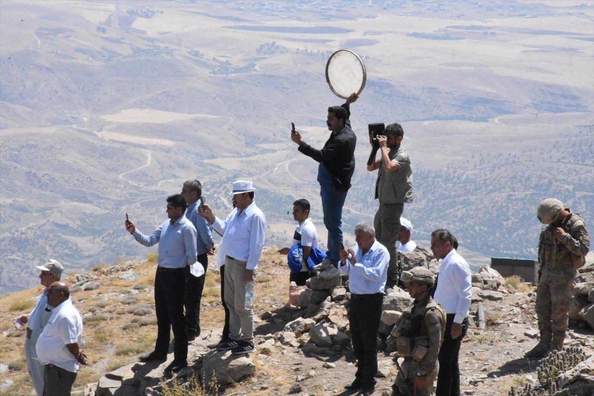 Terörden temizlenen Cudi Dağı nda 40 yıl sonra festival  #1