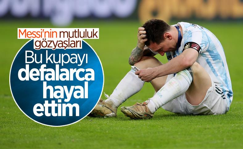 Messi: Bu kupayı defalarca hayal ettim