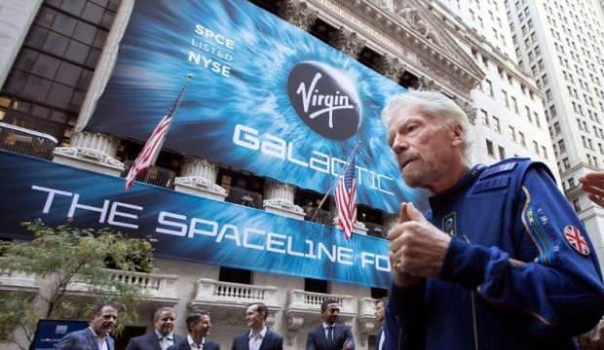 İngiliz milyarder Richard Branson, uzay yolculuğuna çıkıyor  #2