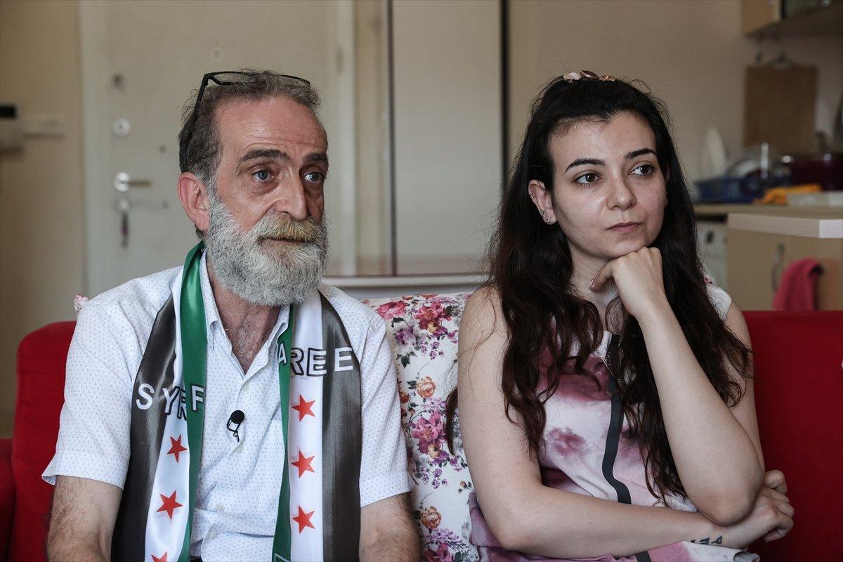 Suriyeli baba ile kızı 12 yıl aradan sonra İstanbul da kavuştu #4