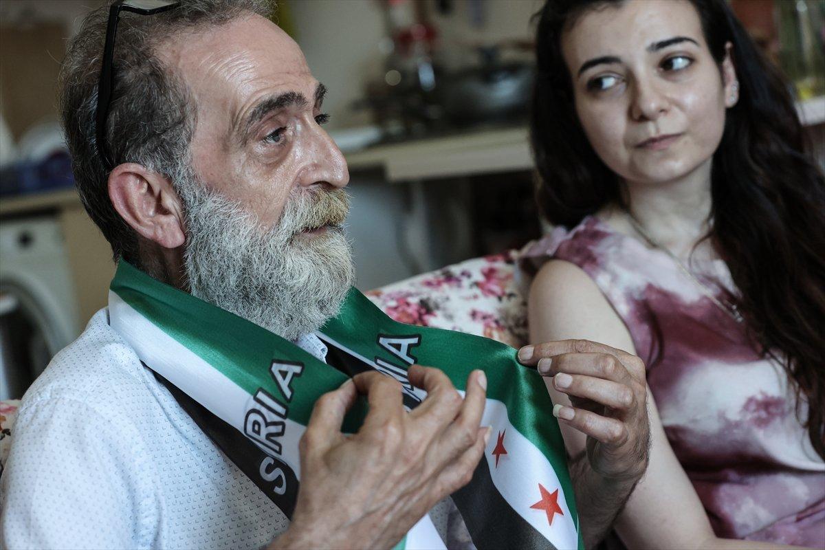 Suriyeli baba ile kızı 12 yıl aradan sonra İstanbul da kavuştu #5