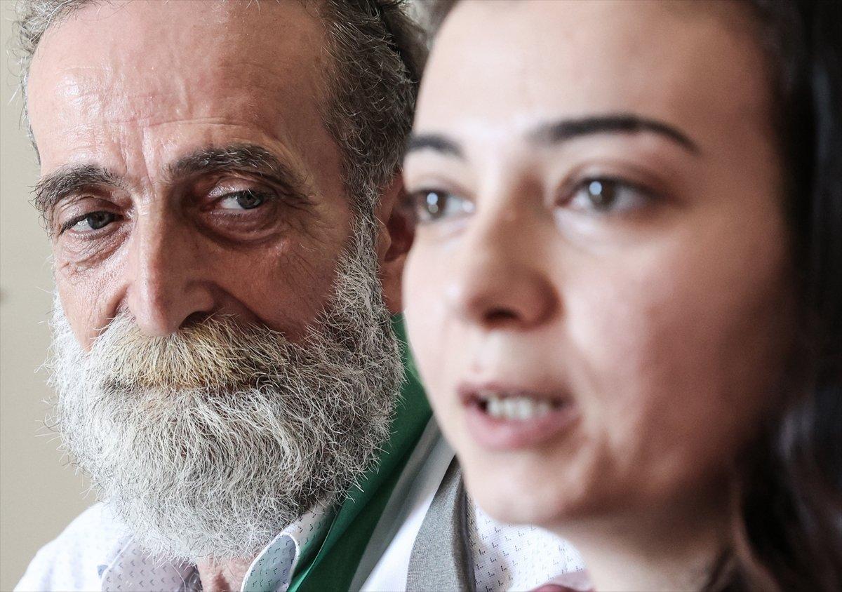 Suriyeli baba ile kızı 12 yıl aradan sonra İstanbul da kavuştu #1