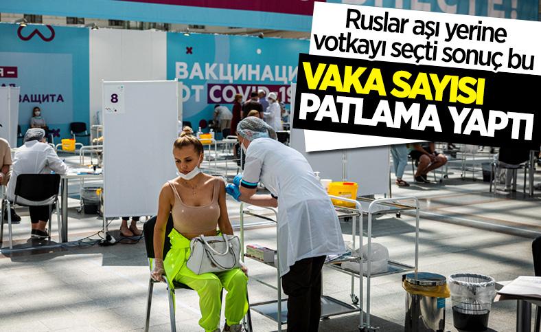 Rusya'da vaka sayılarında endişelendiren artış