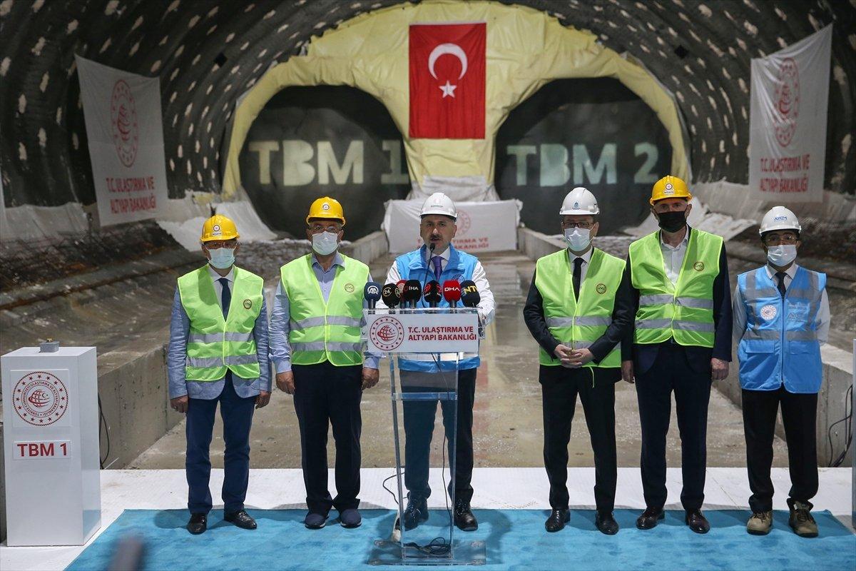 Halkalı-İstanbul Havalimanı metrosunun inşaatı sürüyor #2