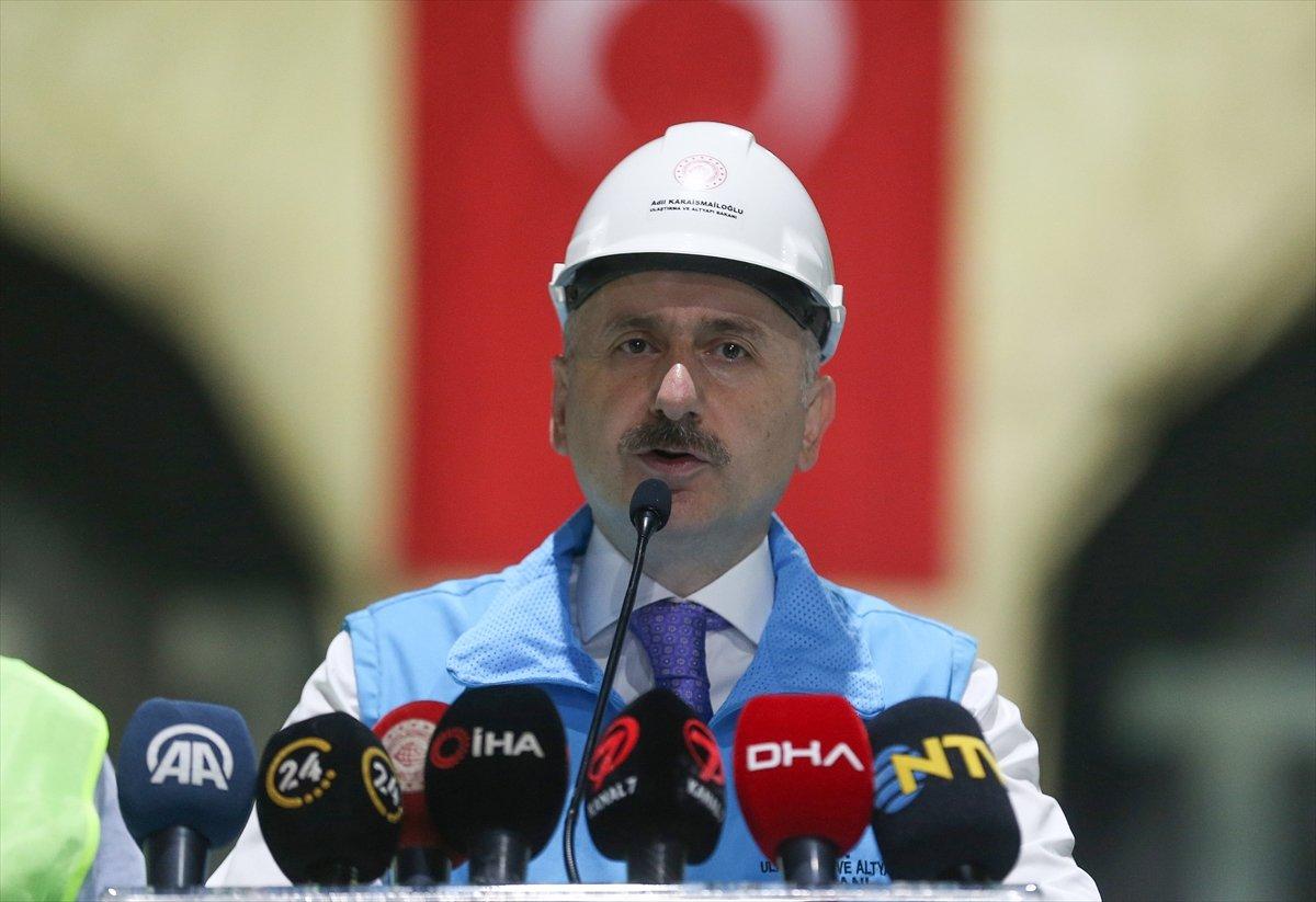 Halkalı-İstanbul Havalimanı metrosunun inşaatı sürüyor #1