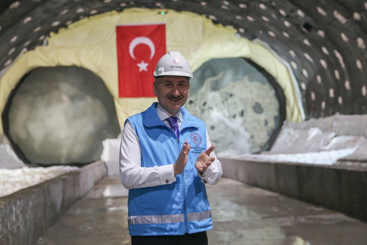 Halkalı-İstanbul Havalimanı metrosunun inşaatı sürüyor #4