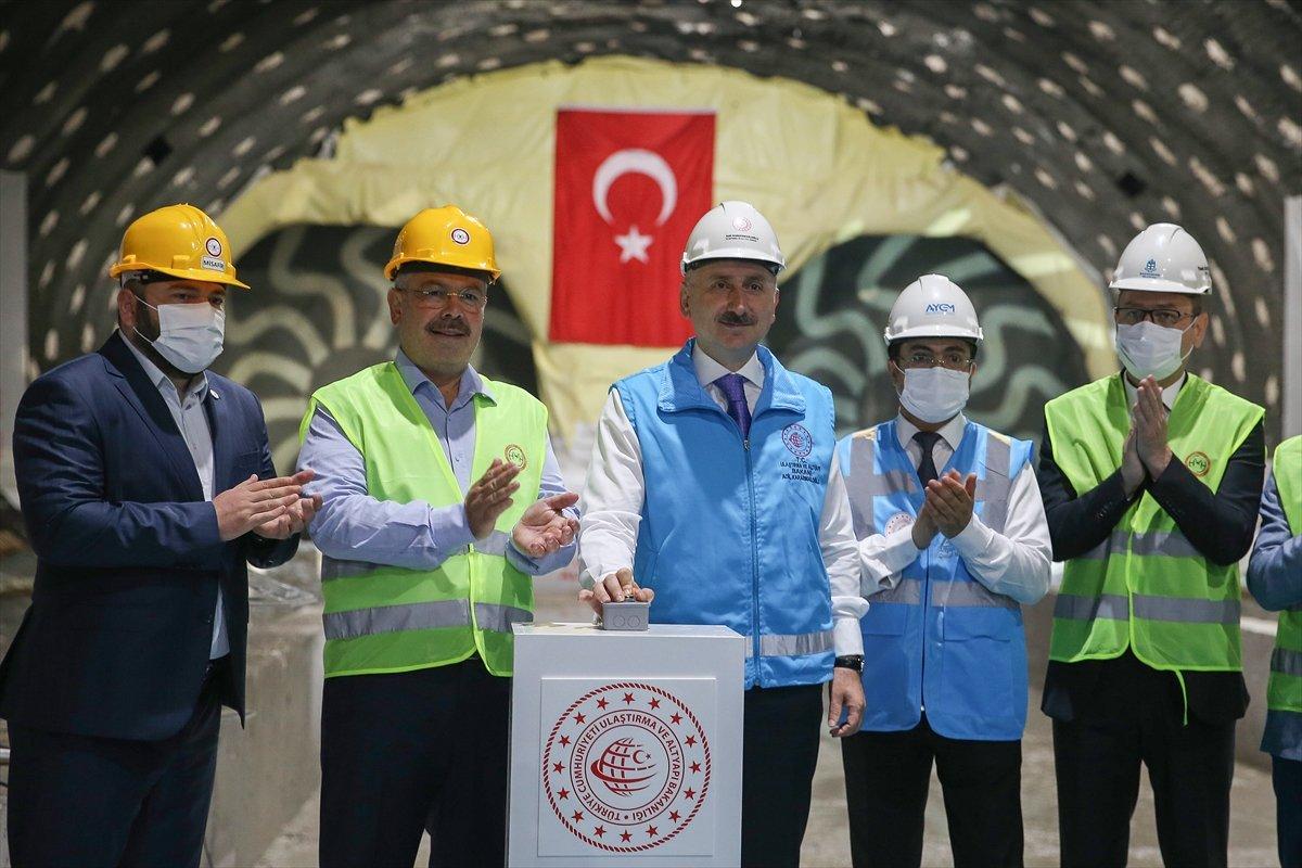 Halkalı-İstanbul Havalimanı metrosunun inşaatı sürüyor #3
