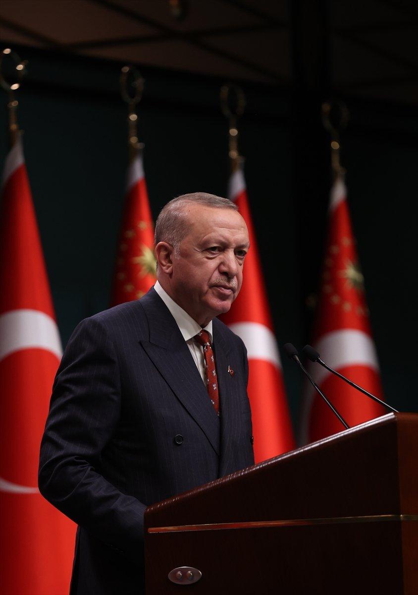 Cumhurbaşkanı Erdoğan dan Kabine sonrası açıklamalar #3