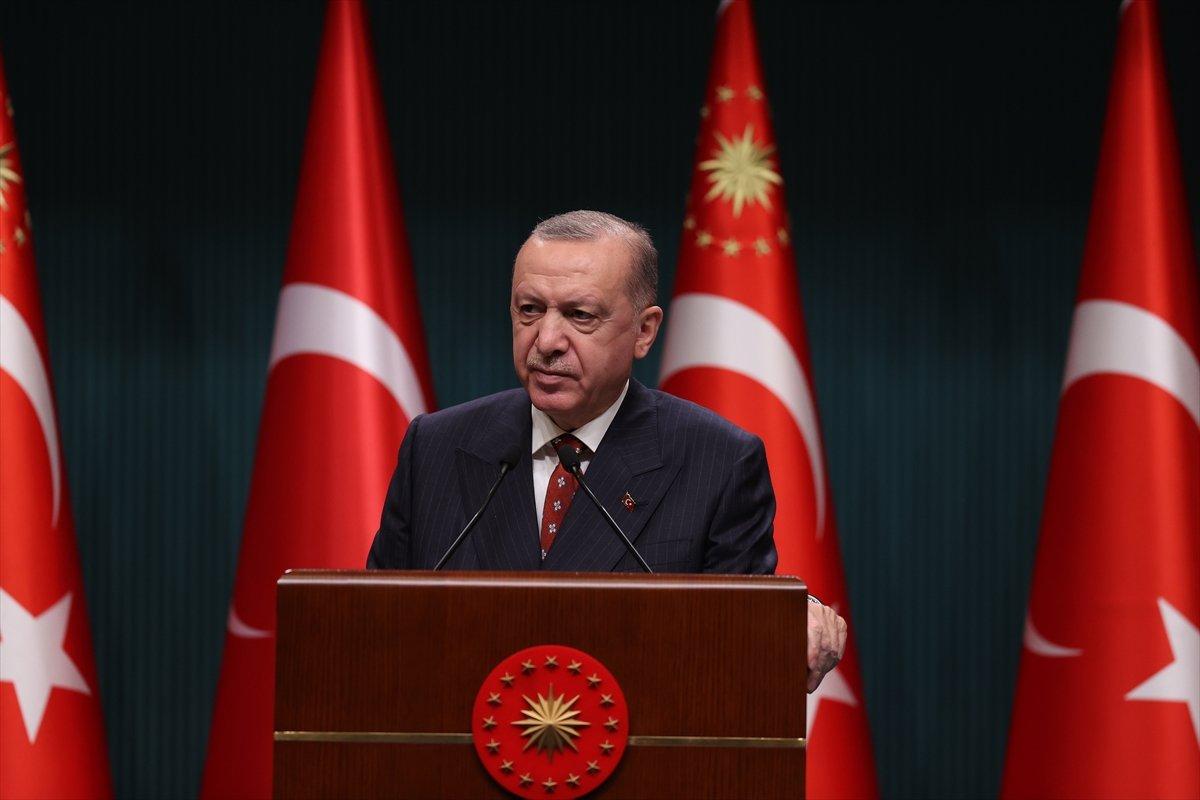 Cumhurbaşkanı Erdoğan dan Kabine sonrası açıklamalar #2