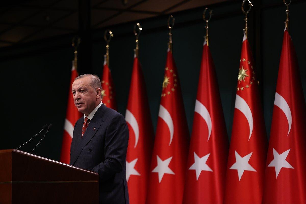 Cumhurbaşkanı Erdoğan dan Kabine sonrası açıklamalar #1