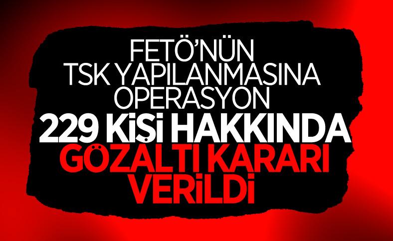 İzmir merkezli 47 ilde FETÖ operasyonu