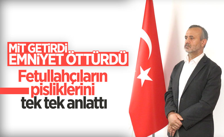 Türkiye'ye getirilen FETÖ'cü Orhan İnandı itiraf etti