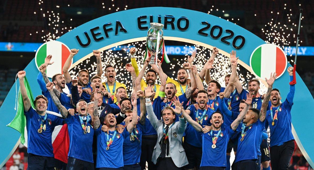 EURO 2020 kupası İtalya nın #4