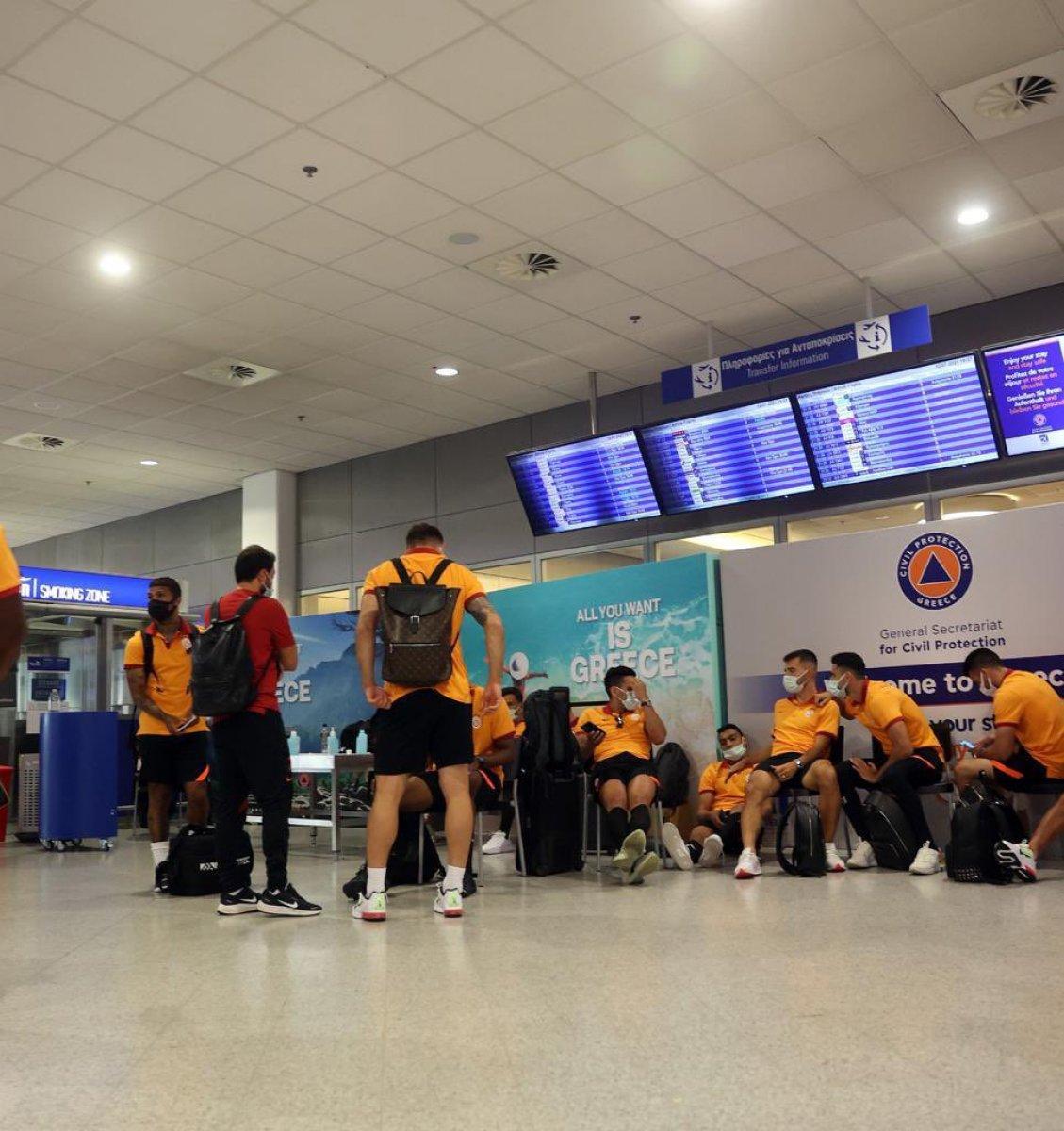 Yunanistan da Galatasaray ı şaşkına çeviren tavır  #6