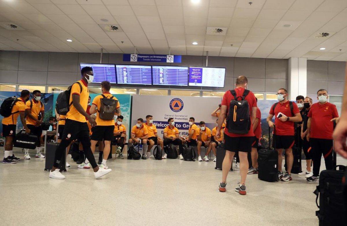 Yunanistan da Galatasaray ı şaşkına çeviren tavır  #5