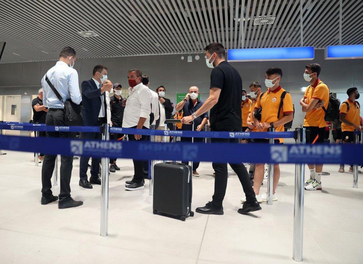 Yunanistan da Galatasaray ı şaşkına çeviren tavır  #1