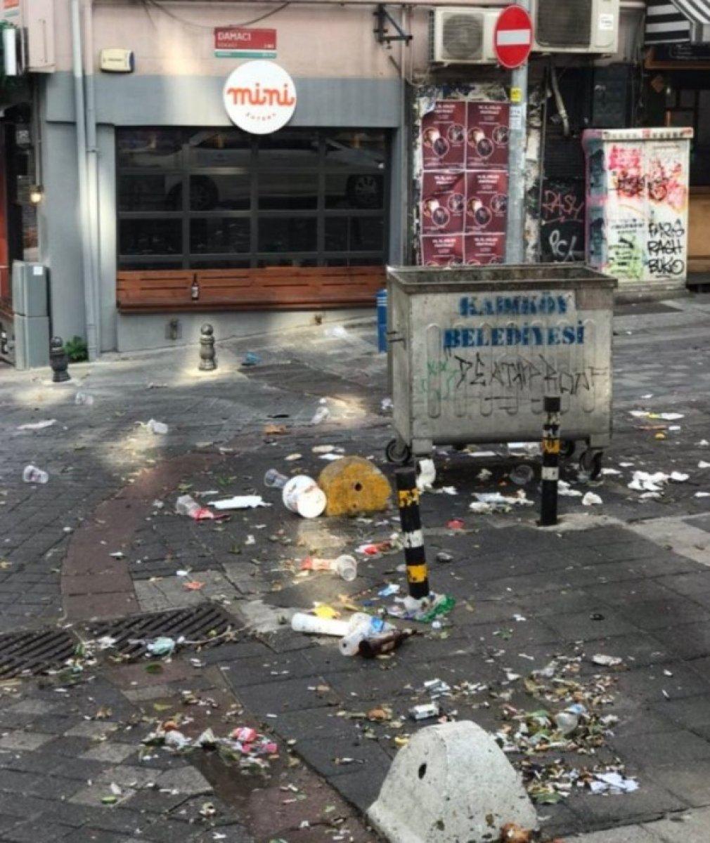 Kadıköy den sonra Cihangir de de toplanan kalabalık taşkınlık çıkardı #8
