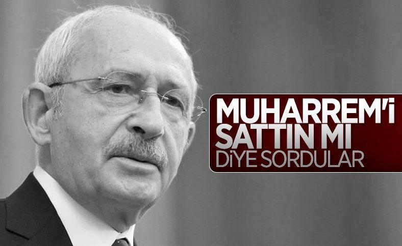 Kemal Kılıçdaroğlu: Muharrem İnce'yi satmadık