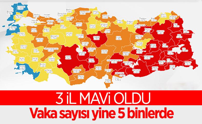 12 Temmuz Türkiye'de koronavirüs tablosu ve aşı haritası