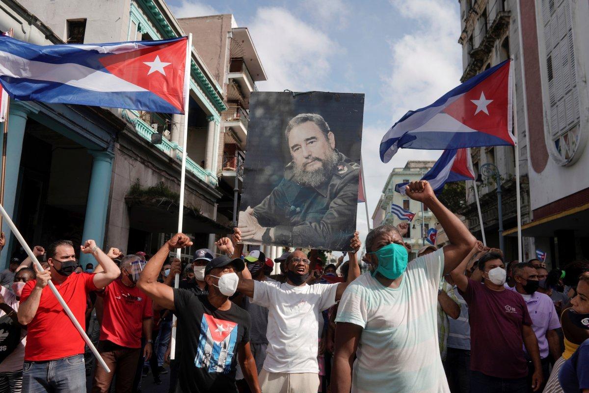 Küba yönetimi: Devrimi teslim etmeyeceğiz #7