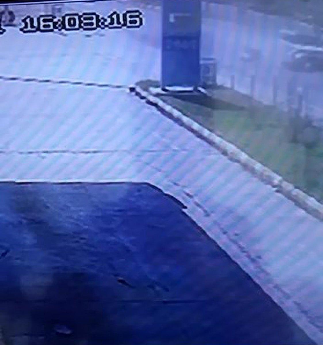 Aydın da motosikletlinin öldüğü kaza kamerada #2