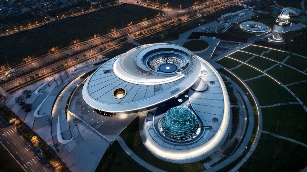 Dünyanın en büyük astronomi müzesi Şanghayda açılıyor