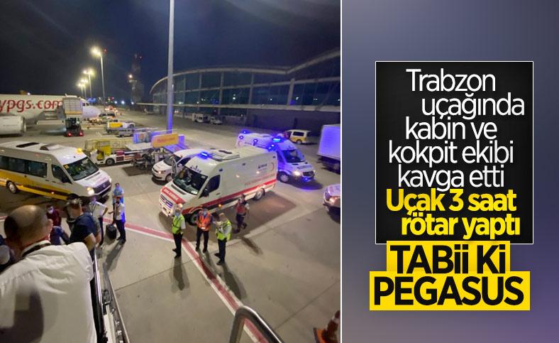 İstanbul-Trabzon seferinde gergin anlar: Pilot uçağı kaldırmadı