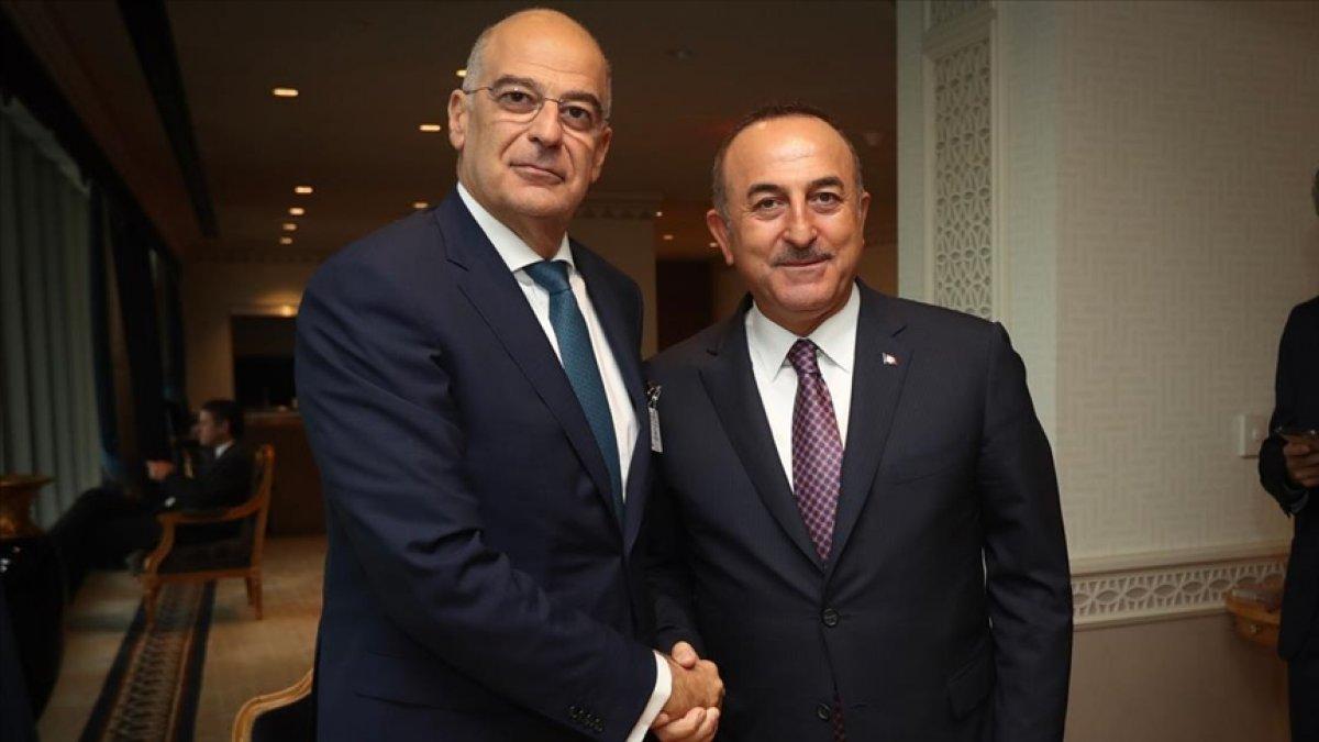 Mevlüt Çavuşoğlu, mevkidaşı Dendias ile görüştü #1