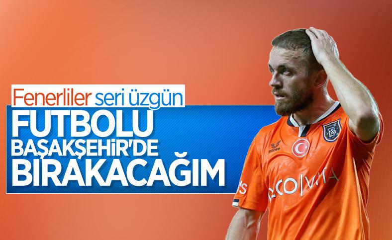 Edin Visca: Kariyerimi Başakşehir'de bitirmek istiyorum