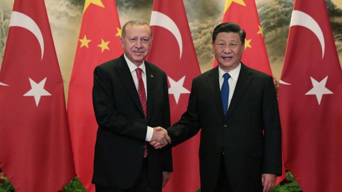 Cumhurbaşkanı Erdoğan, Çin Devlet Başkanı ile görüştü #1