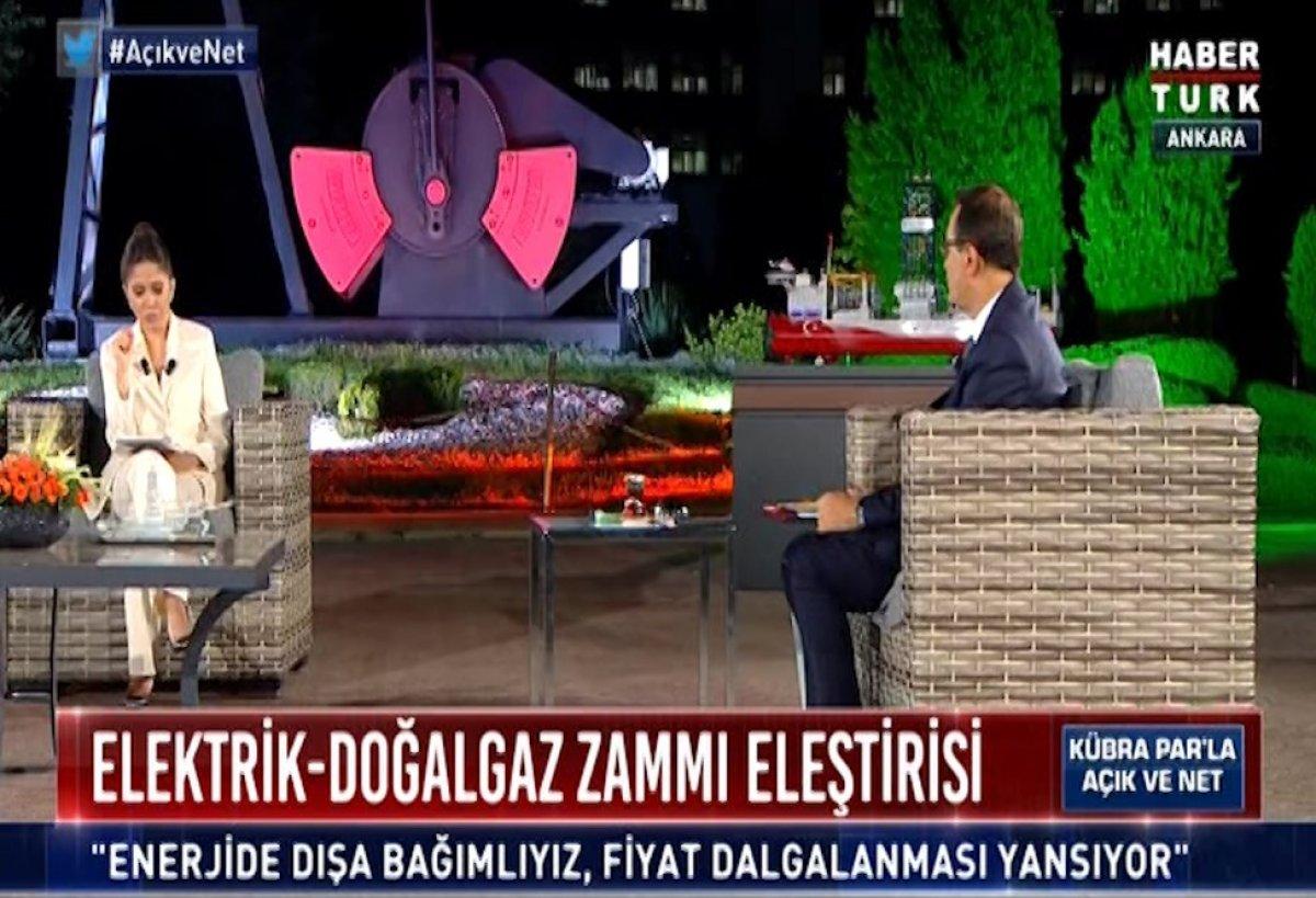 Fatih Dönmez, doğalgaz ve elektriğe neden zam yapıldığını açıkladı #2