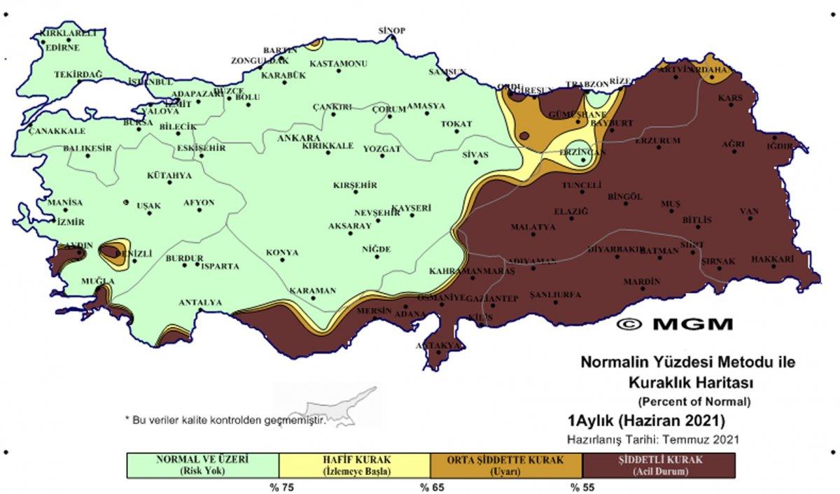 Türkiye'de olağanüstü kurak bölge sayısı arttı  #4