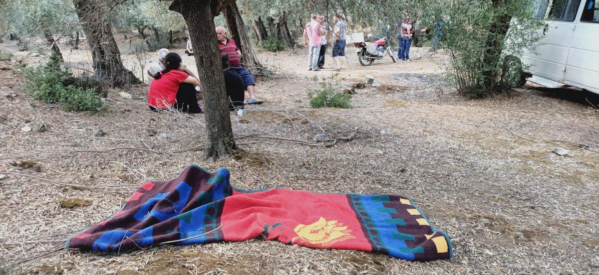 Aydın da 2 çocuk annesi yemek hazırlarken gölete düşüp, öldü #4