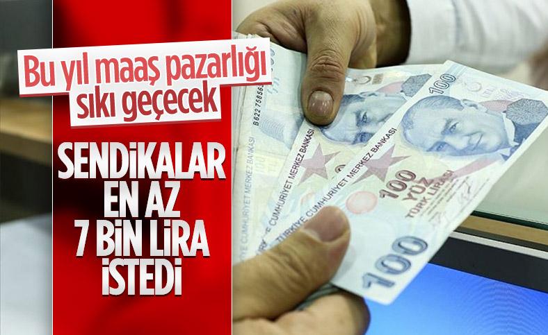 KESK'ten 'en düşük memur maaşı 6 bin 952 TL olsun' talebi