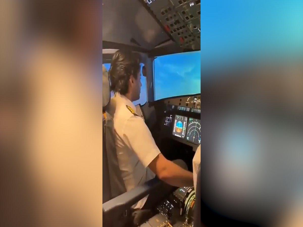 Pilotun havada Zuhruf Suresi ni okuduğu o anlar #2