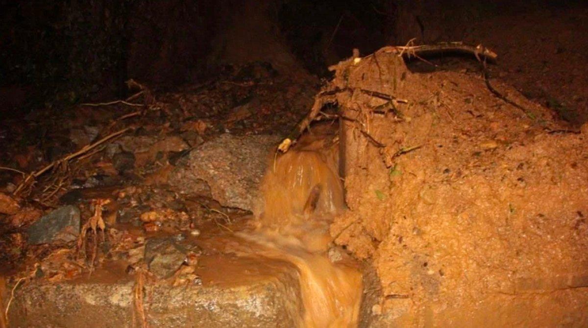AFAD dan Rize deki şiddetli yağışa ilişkin açıklama #2