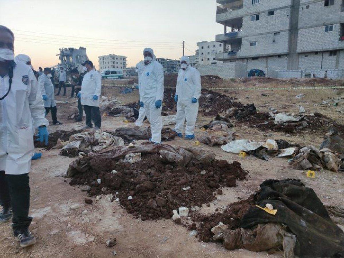 Afrin de PKK katliamı: Toplu mezar bulundu #2