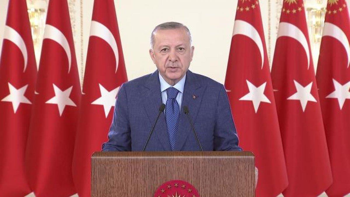 Cumhurbaşkanı Erdoğan: Patates deposu yapılması tartışılan tüneli rekor sürede açtık #1