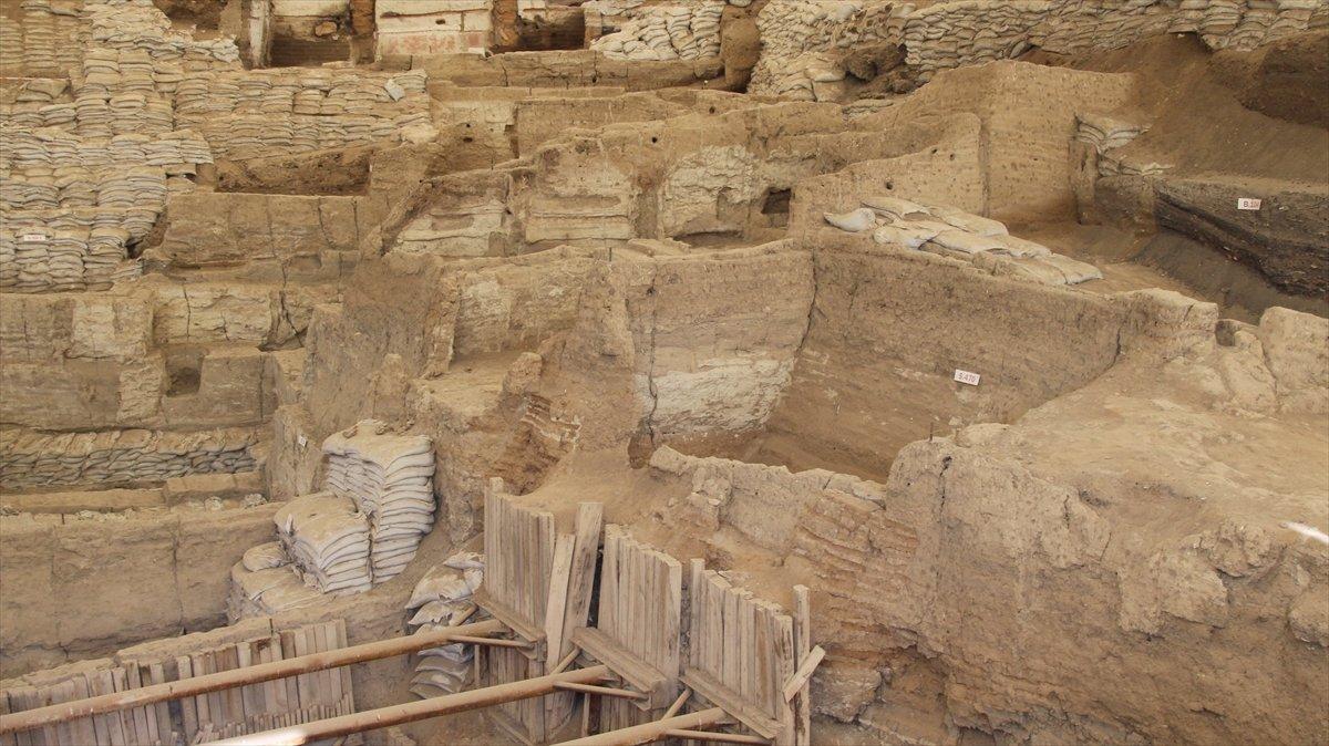 Çatalhöyük te ikinci bir mahalle ortaya çıkarıldı #4