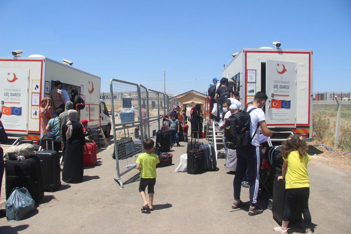 9 günde 18 bin Suriyeli ülkesine döndü  #6