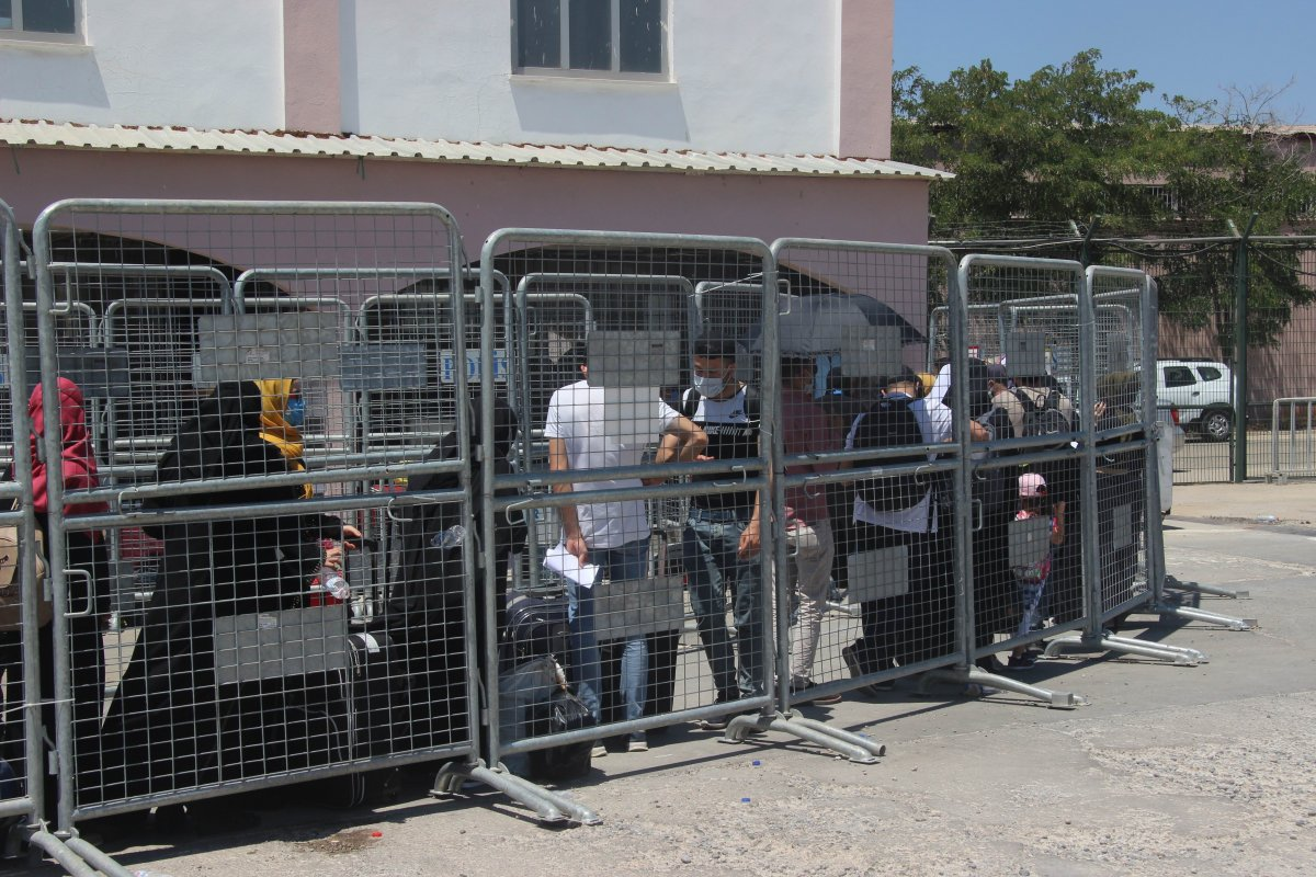 9 günde 18 bin Suriyeli ülkesine döndü  #7