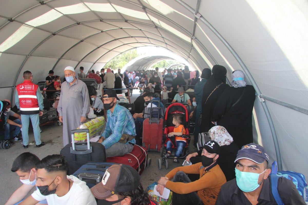 9 günde 18 bin Suriyeli ülkesine döndü  #5