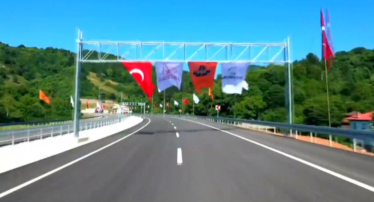 Cumhurbaşkanı Erdoğan: Patates deposu yapılması tartışılan tüneli rekor sürede açtık #2