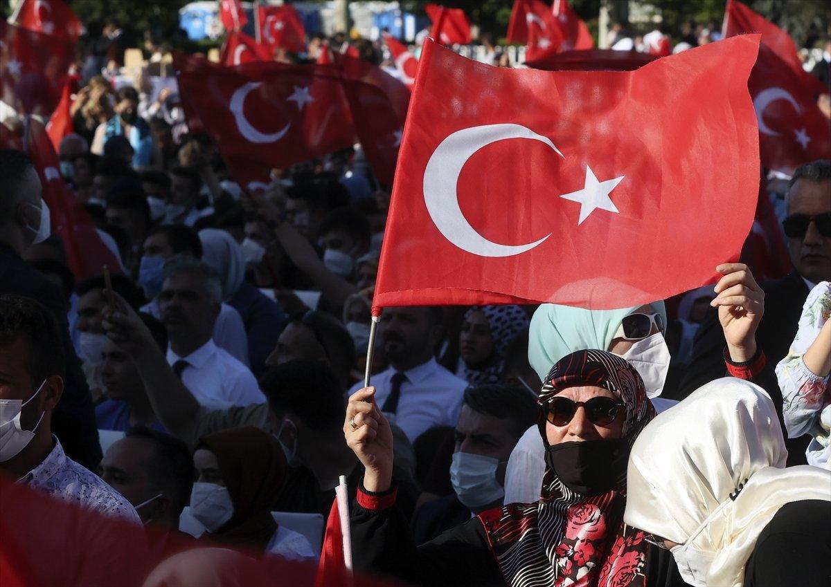 Cumhurbaşkanı Erdoğan: Millete silah çekenin affı olmaz #5