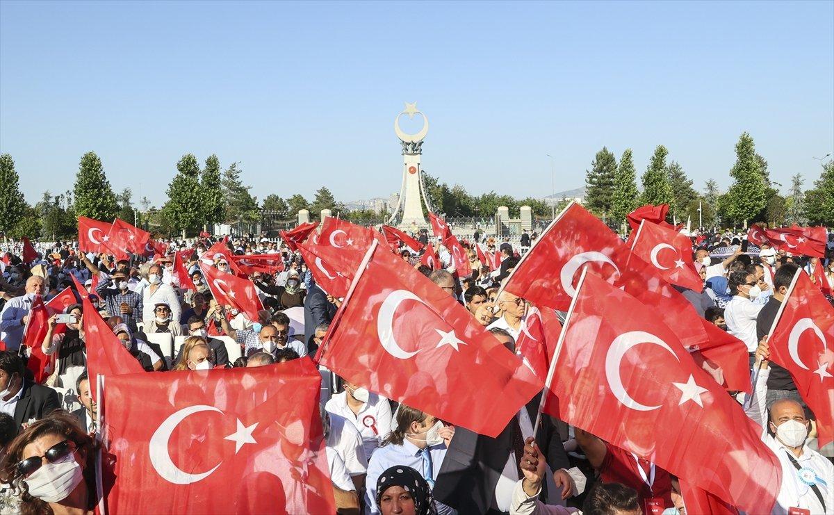 Cumhurbaşkanı Erdoğan: Millete silah çekenin affı olmaz #3